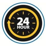 QuickShip 24 Hour Shipping Logo